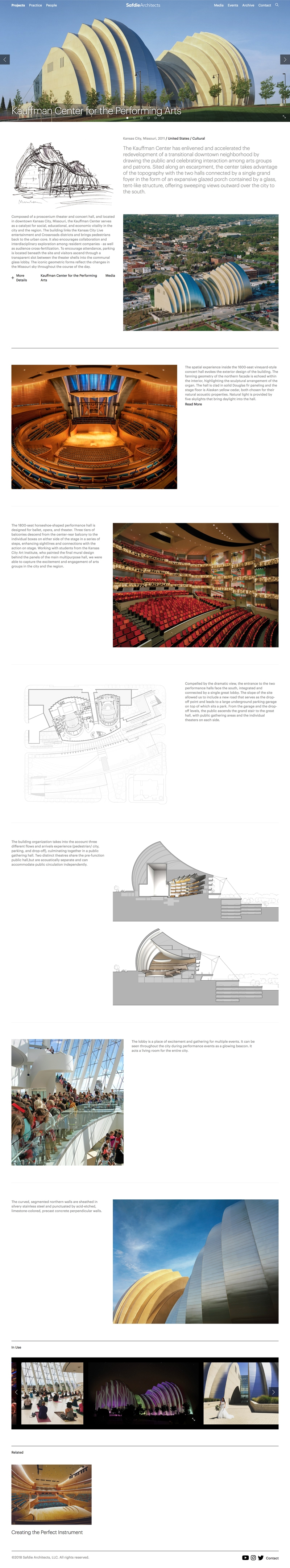 Case study example from Safdie Architects